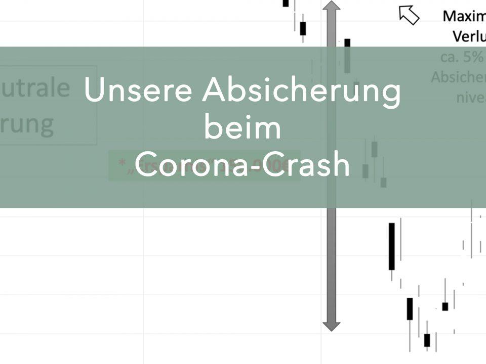 Absicherung beim Corona-Crash